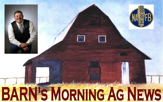 CLICK HERE to listen to TODAY's BARN Morning Ag News with Brian Allmer...