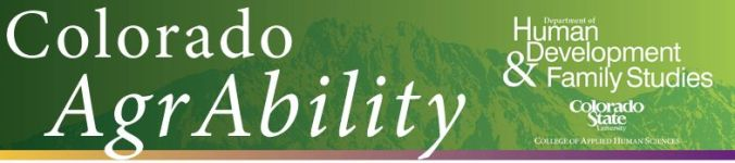 CSU AgrAbility Header