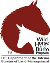 US Dept of Interiror BLM Wild Horse and Burro Program logo