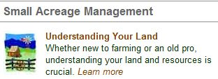 CSU Small Acreage Management Logo