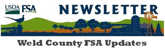 Weld County FSA logo