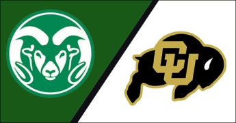 CSU Rams vs CU Buffs Rocky Mountain Showdown logo
