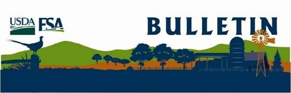 USDA FSA Bulletin logo