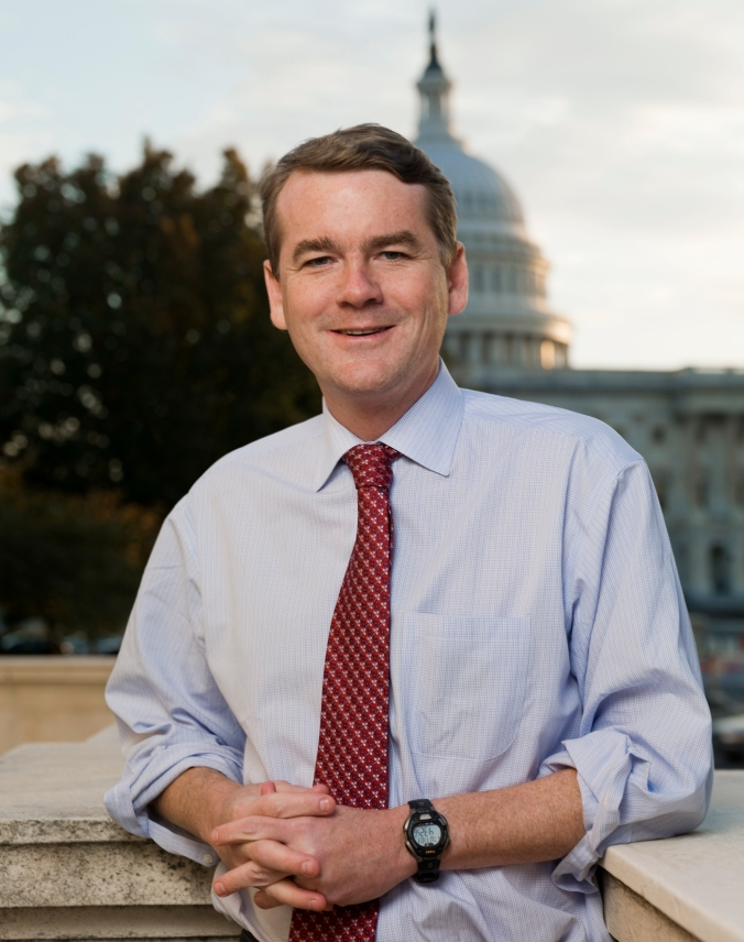 US Senator Michael Bennet color official photo-022513