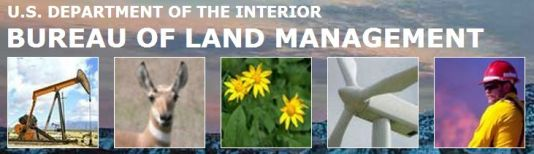 US DOI BLM - US Dept of Interior Bureau of Land Management logo