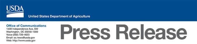 USDA Press Release