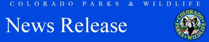 CPW News Release header