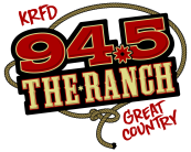 94.5 The Ranch KRFD logo large