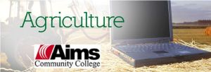 Aims Community College Agriculture logo