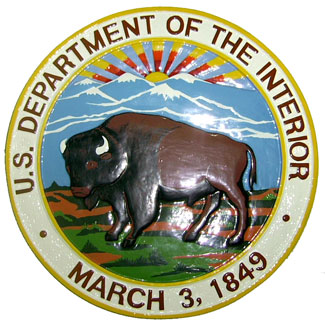 US Dept of Interior logo