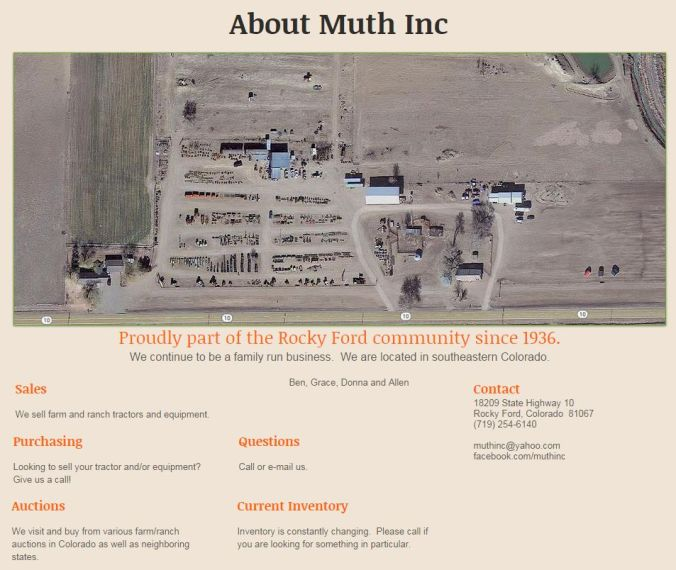 About Muth Inc
