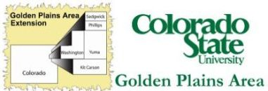 CSU Extension Golden Plains Area logo