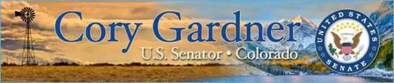 US Senator Cory Gardner Logo