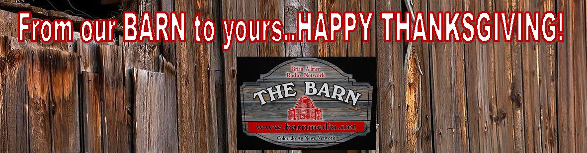 From our BARN to yours - HAPPY THANKSGIVING