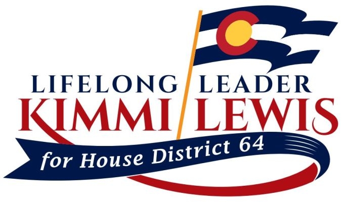 Kimmi Lewis for CO House District 64 logo