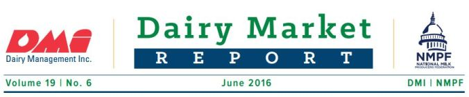 NMPF Dairy Market Report - JUNE 2016