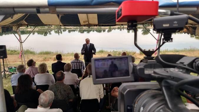 USDA Secretary Tom Vilsack in Henderson CO 062316
