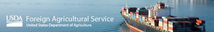 USDA FAS - Foreign Agricultural Service header