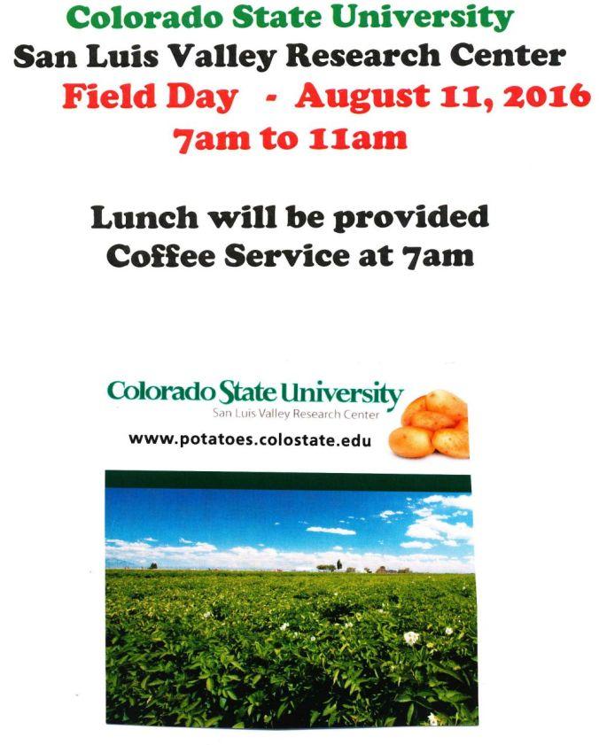 CSU-SLVRC Field Day Aug 11th 2016