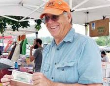 Farmers markets are where RMFU Member John Ellis sells his production