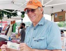 Farmers markets are where RMFU Member John Ellis sells his production