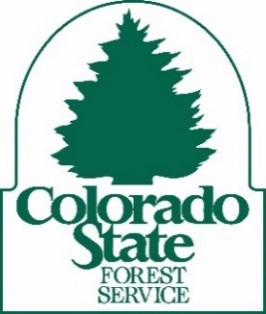 CO State Forest Service logo