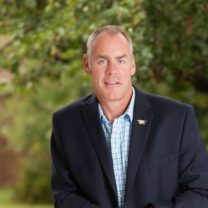 US Dept Interior Secretary Ryan Zinke