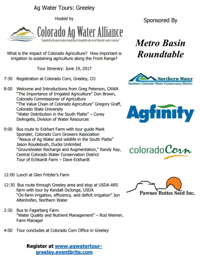 06 05 17 cawa hosting ag water tour greeley area on june 19th