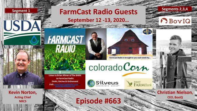 FarmCast Radio Guests NRCS-Norton - BovIQ-Nielson 091220 - 091320